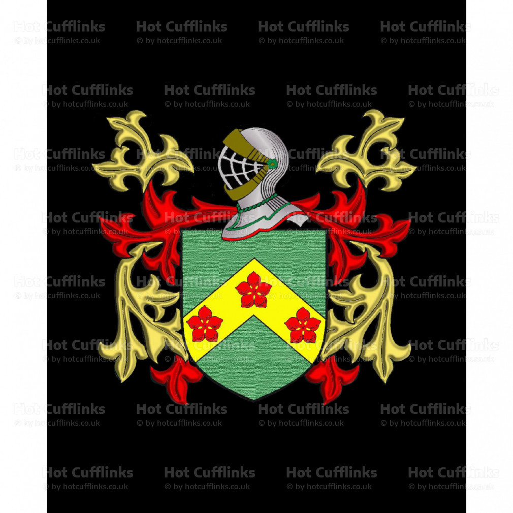 Turley Family Crest Surname Coat Of Arms Brown Leather Keyring Engraved