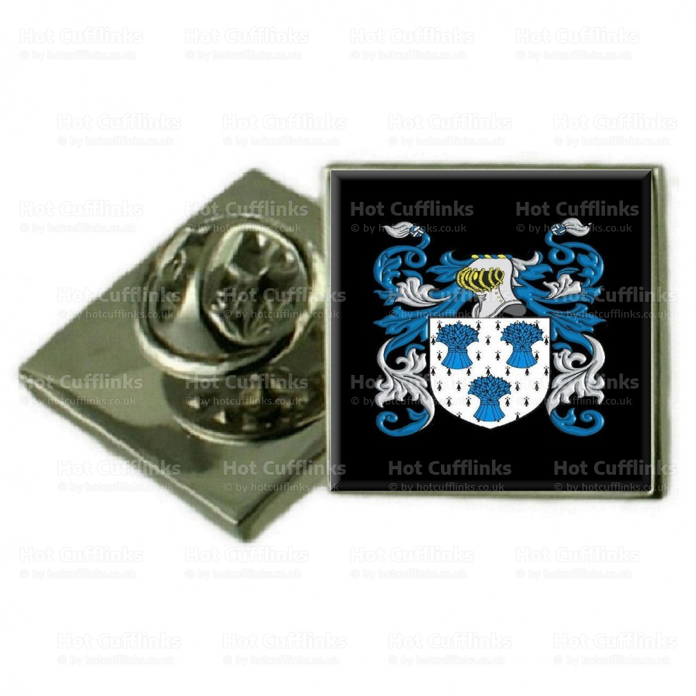 Select Gifts Halpin England Family Crest Surname Coat Of Arms Cufflinks Personalised Case